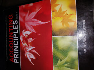 Accounting principles volume 2 and Accounting principle part 1