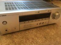Yamaha Av receiver amplifier RX V357