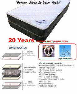 SINGLE/DOUBLE/QUEEN/KING MATTRESS ON SALE