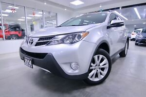 2014 Toyota RAV4  LIMITED ONE OWNER, CLEAN CARPROOF, NON SMOKER,