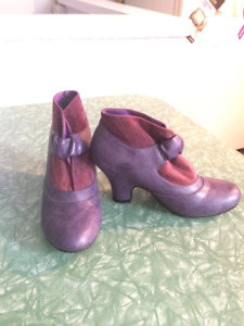 Fun Purple Shoes