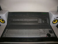 Digidesign Control 24 Surface - 24 Channel Digital Mixing Desk , 16 Focusrite Class A Mic Preamps.