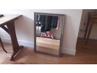 Decorative framed mirror