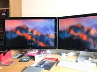 "Apple Cinema Display 27"" Widescreen LED LCD Monitor, built-in Speakers"