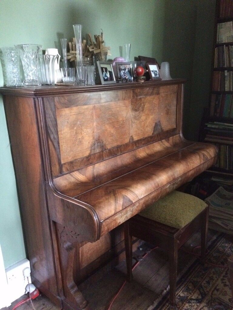 Free John W Austin Antique Upright Piano