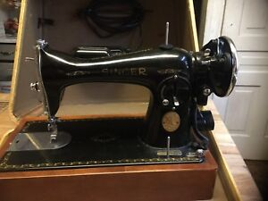 Antique ornate Singer sewing machine