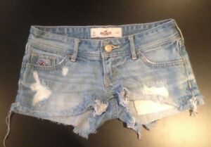 HOLLISTER SHORTS...SIZE 00