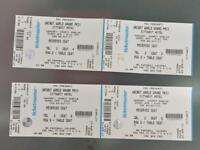 Darts tickets for sale
