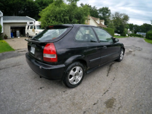 Honda Civic Dx 1999    Cuir