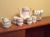 coffee set by Royal Standard
