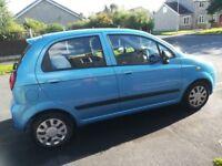 FOR SALE CHEVROLET MATIZ SE 1.0 5Dr. hatchback 2006 (56) reg. petrol.