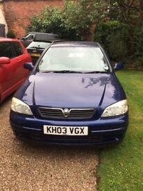 Vauxhall Astra 1.4i 16v LS 5door 03/04 for sale