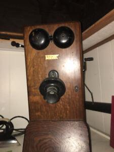 Antique Oak phone