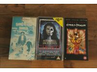 NICE LOT OF RARE VHS VIDEO TAPES JACKIE CHAN MICHAEL JACKSON BRUCE LEE SONG OF THE SOUTH ETC