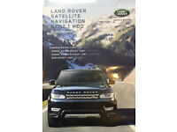 LAND ROVER 2017 GEN 2.1 DISCOVERY 4, EVOQUE AND RANGE ROVER SPORT SATELLITE NAVIGATION MAP UPDATE
