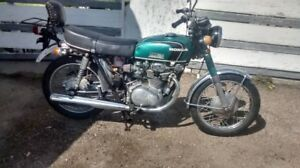 1971 Honda CB350k3 supersport