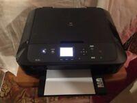 Canon MG5750 Wireless Inkjet Colour Printer. Five cartridges. Prints colour photos