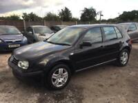Volkswagen Golf 1.6 Automatic 2003/53 Plate Petrol- 1 OWNER FROM NEW- LOW MILEAG