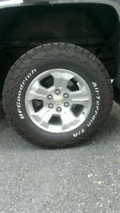 New Silverado Tire & Wheel Package LT275/70R18