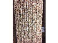 Brown/Beige Loop pile Carpet Remnant (2.70 x 4.00m) for £45 - REF: 118