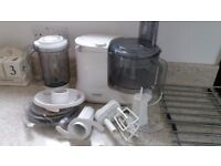Kenwood mixer/blender, Mincer, Electric frypan, Travel kettle, Electric juicer