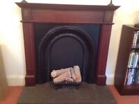 A Complete fire place/surround