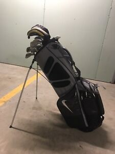 RH men's Golf Clubs with brand new bag!