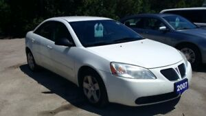 2007 Pontiac G6 SE Sedan $2995 Certified and etested