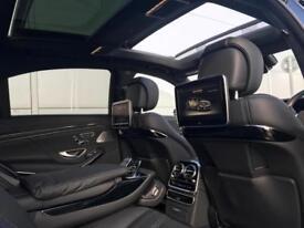 2014 64 Mercedes-Benz S63 L AMG 5.5 Executive + BLACK + **ALL BLACK*** + 3 TVs