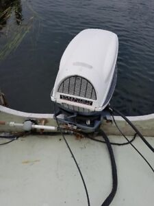 Evinrude speed twin long shaft 28hp outboard motor