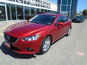 2015 Mazda Mazda6 **GPS,SUNROOF, LEATHER & BLIND SPOT ALERT** GS