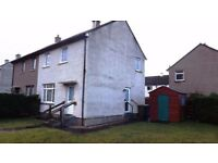 Spacious Two Bedroom End Terrace House to Rent in Nairn
