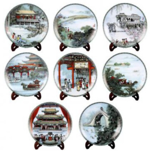 The summer palace plates set