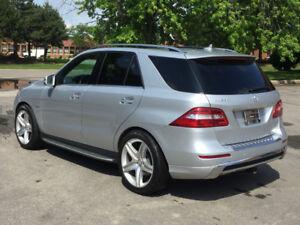 2012 Mercedes-Benz M-Class ML550 AMG pkg SUV, Crossover