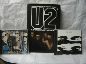 U2 Book and 2 CDs