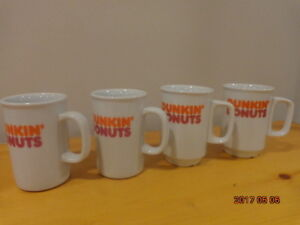 DUNKIN' DONUTS Mugs: 4 Collectible Mugs for $10!
