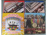 4 Beatle LP's