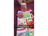 Shopkins curtains & lightshade