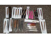 Eyelash extension tools / tweezers / lashes
