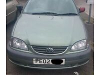 Toyota Avensis 1.8 Manual Gearbox Breaking For Parts (2002)