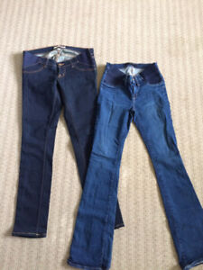 Gorgeous well kept maternity jeans JBrand and Citizens!