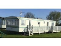 6 berth 2 bed caravan,ingoldmells,DOG FRIENDLY,sat to sat 2-9th sept £225, & bond nice site quiet ..