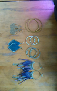 6 Pairs of Earrings for $15