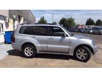 Mitsubishi shogun warrior 3.2DI-D auto 7 seater 2006