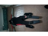 WETSUIT AND BOOTS