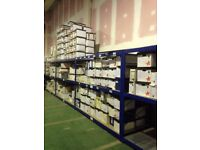 HI-LO INDUSTRIAL LONGSPAN SHELVING AS NEW ( PALLET RACKING , STORAGE)