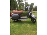 Vespa/lml 4t 125 deluxe 4s delivery miles only