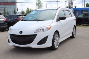 2015 Mazda Mazda5 GS LUX MAZDA 5 LEATHER SUNROOF DVD 7 YEAR WARR