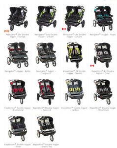 ISO: Baby Trend Double Jogger Stroller