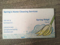Casual part time housekeeper for family owned business